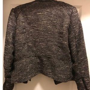 H&M Jackets & Coats - H&M Motorcycle Tweed Jacket Size 12